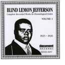 Blind Lemon Jefferson Vol. 1 (1925 - 1926) thumbnail