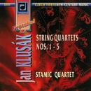 Klusak: String Quartets Nos 1-5 thumbnail