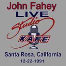 John Fahey LIVE At Studio KAFE thumbnail