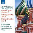 Taneyev: Complete String Quartets, Vol. 5 thumbnail