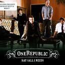 Say (All I Need) (Radio Single) thumbnail