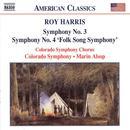 Roy Harris: Symphony No. 3 / Symphony No. 4 'Folk Song Symphony' thumbnail